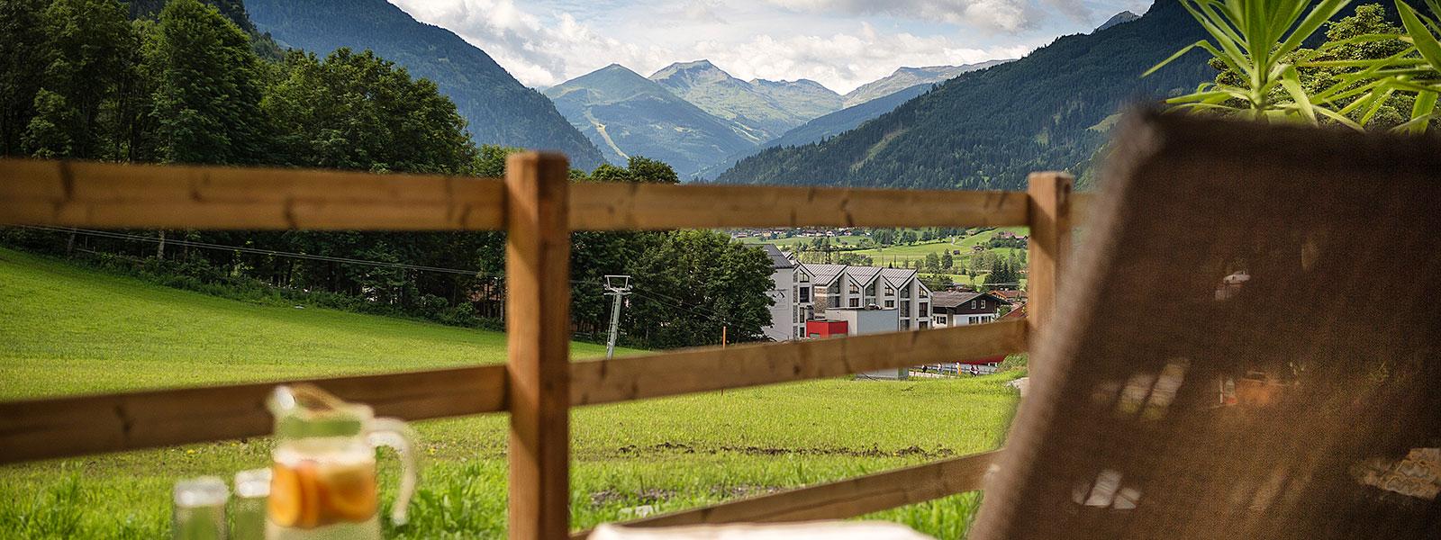 Dorfgastein das Dorf in Gastein Einkehr im Gasteinertal